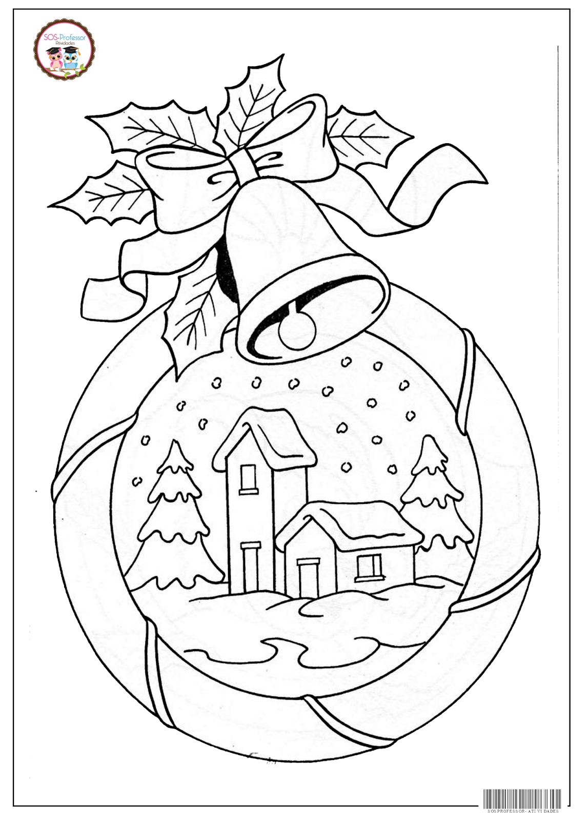 Gingerbread House Coloring