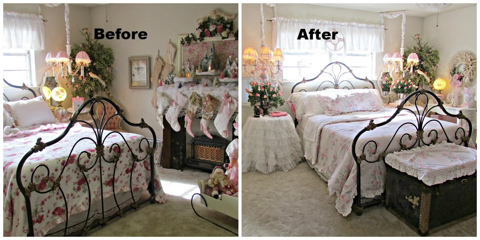 Penny s Vintage Home  Romantic Ideas for Decorating your Bedroom Romantic Ideas for Decorating your Bedroom