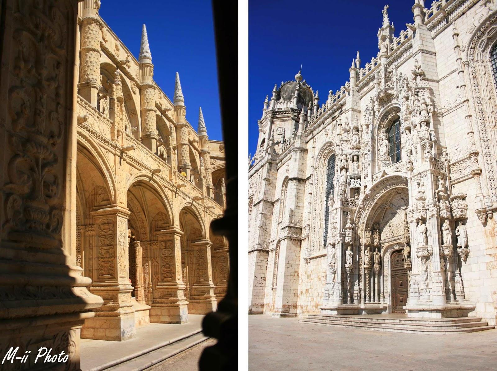 M-ii Photo : 10 choses à faire à Lisbonne  Monastere dos Jeronimos