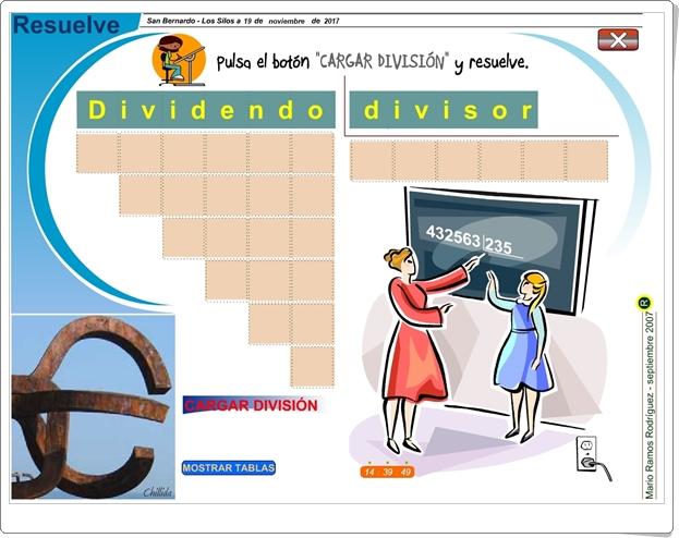 """""""Resuelve"""" (Algoritmo de la división por 3 cifras)"""