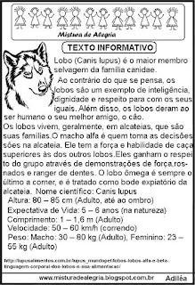 Texto sobre lobo copa 2018