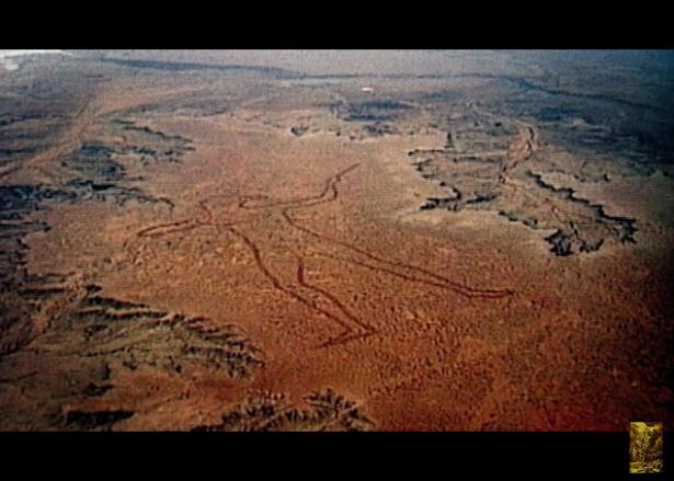 Δείτε το μεγαλύτερο γεωγλυφικό του κόσμου: Ο μυστηριώδης άνθρωπος Marree Man [Βίντεο]