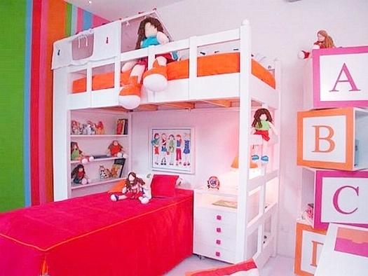 50 Ideias de quartos com beliche
