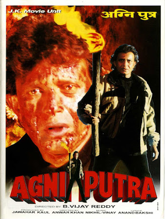 Poster Of Hindi Movie Agniputra 2000 Full HD Movie Free Download 720P Watch Online