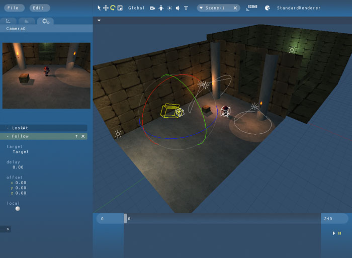 maratis simple 3d game editor