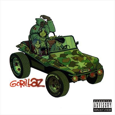 Portada del primer disco de Gorillaz