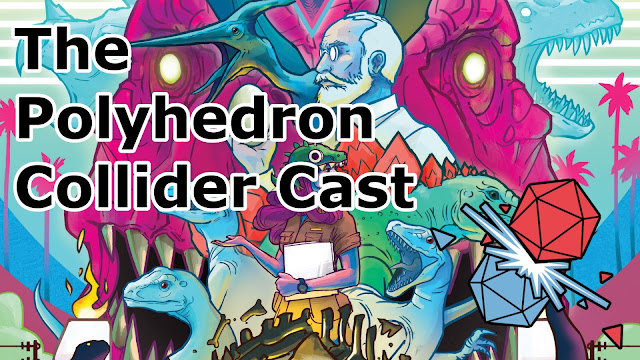 The Polyhedron Collider Cast Episode 59 - Hanamikoji, High Society and Dinosaur Island
