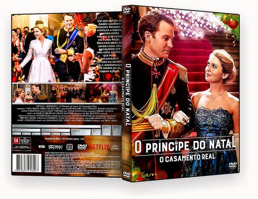 CAPA DVD – O Principe Do Natal O Casamento Real DVD-R