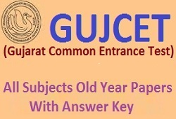 Physics Old Year Papers GUJCET Exam (Gujarati Medium)