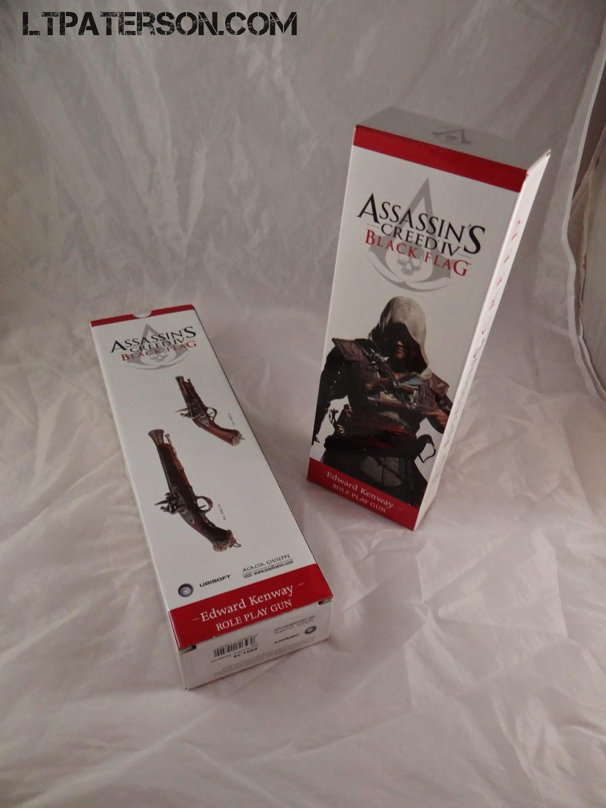Assassins Creed Iv 4 Black Flag Edward KenwayS Pistolet réplique Medioevo