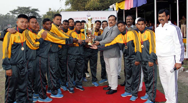 Siliguri Frontier lifts SSB Inter Frontier Football Competition 2019