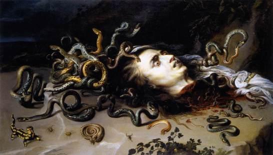 Rubens: Head of Medusa