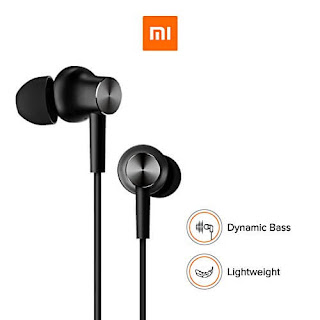Mi Earphones with Mic (Black)