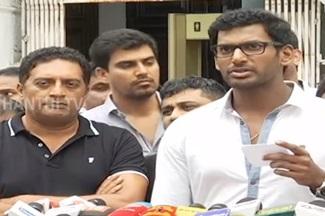 'Mersal' film will release on Diwali – Vishal   FULL PRESS MEET   Thanthi Tv