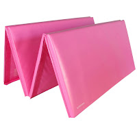 Greatmats foam gymnastics mats pink folding mats