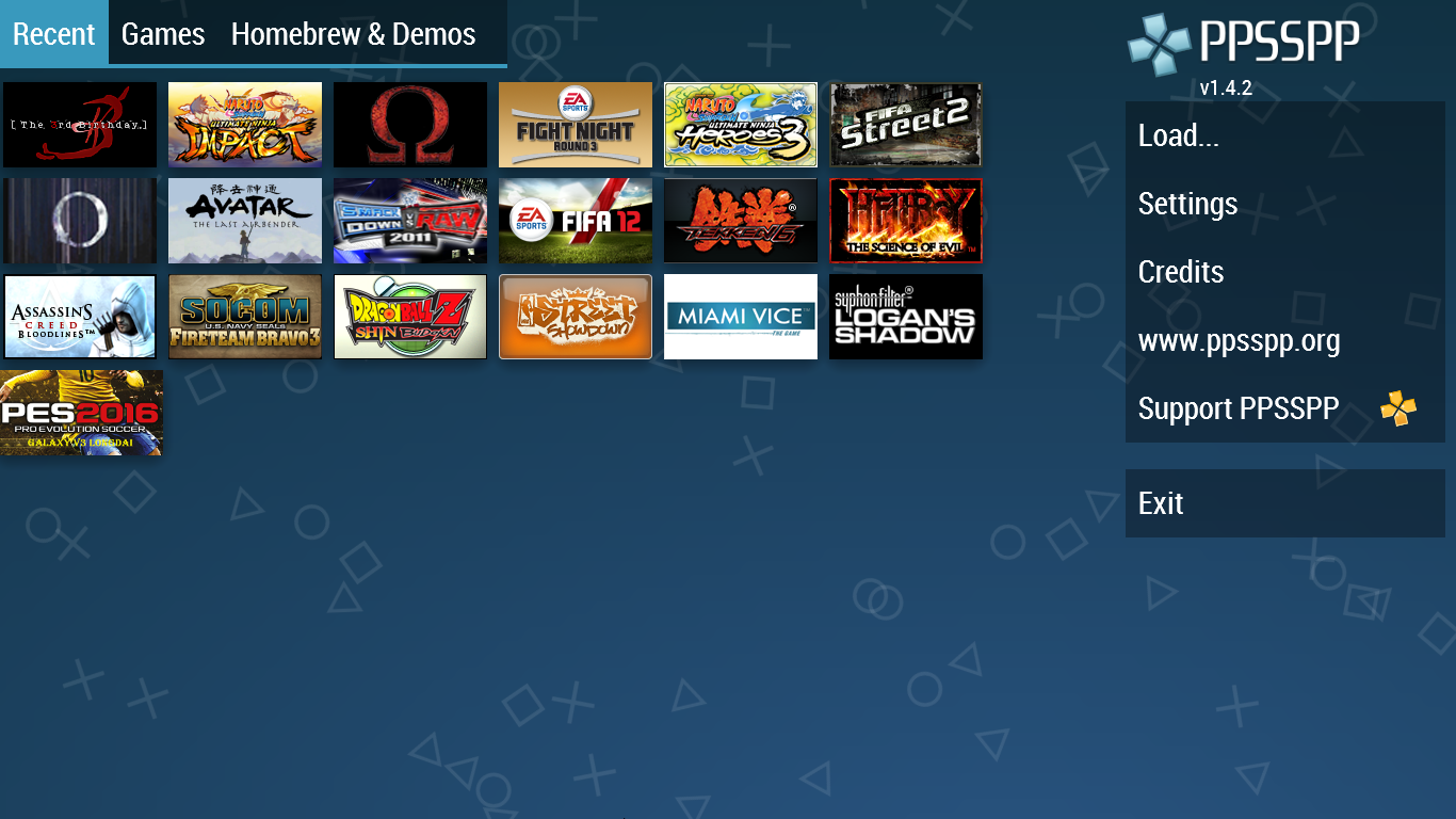 install ppsspp pc Games Android