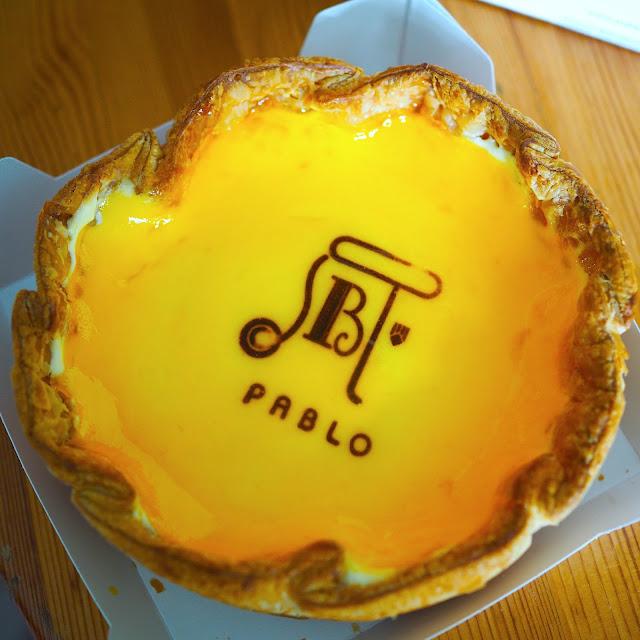pablo signature cheese tart  review malaysia one utama