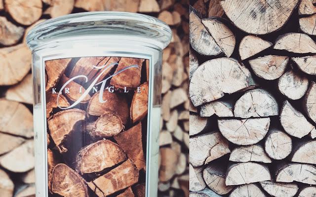 Kringle Firewood - drewno kominkowe zamknięte w świecy   - Czytaj więcej »