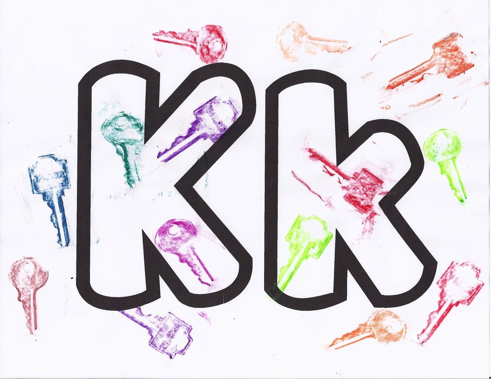 Puddle Wonderful Learning Preschool Activities Letter Of The Week Kk