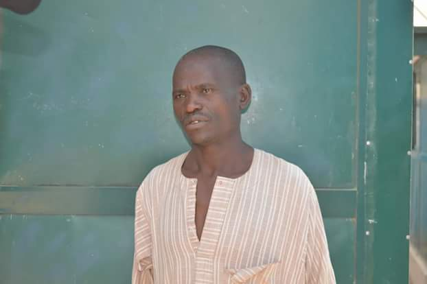 Photos: Man arrested in Nassarawa State for causing grievous bodily injury on his 12- year-old son