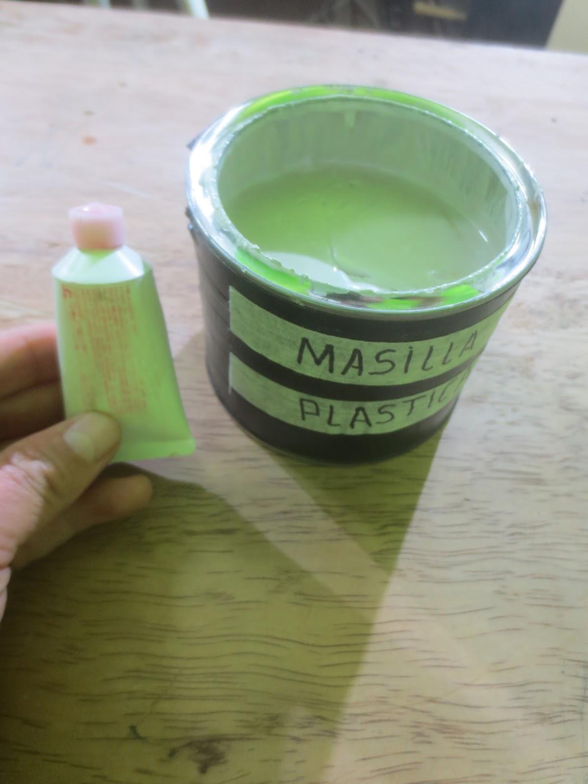 Decoraciones Manualidades En Madera: Que es La MASILLA PLASTICA Y ...