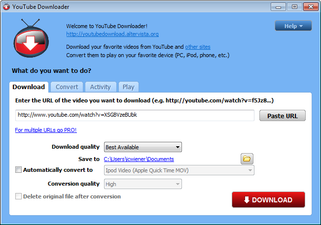 YouTube Downloader Pro 3.9.5 || Free Download Serial Key ...
