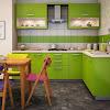 Dekorasi Desain Dapur Nuansa Hijau Terbaru