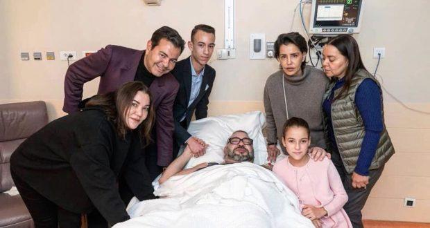 عاااجل:الملك محمد السادس يجري عملية جراحية بباريس!