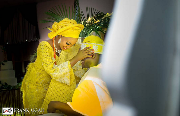 olakunbi oyelese wedding pictures