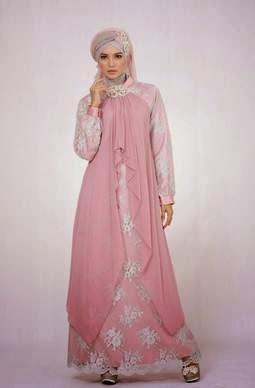 Model baju muslim untuk orang gemuk untuk pesta yang elegan