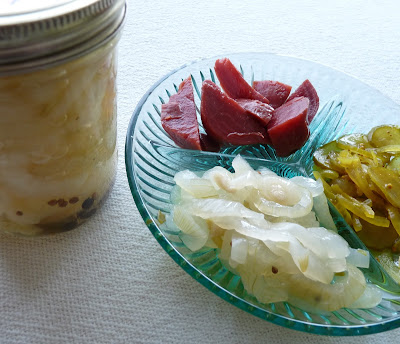 Pickled Sweet Spanish Onions