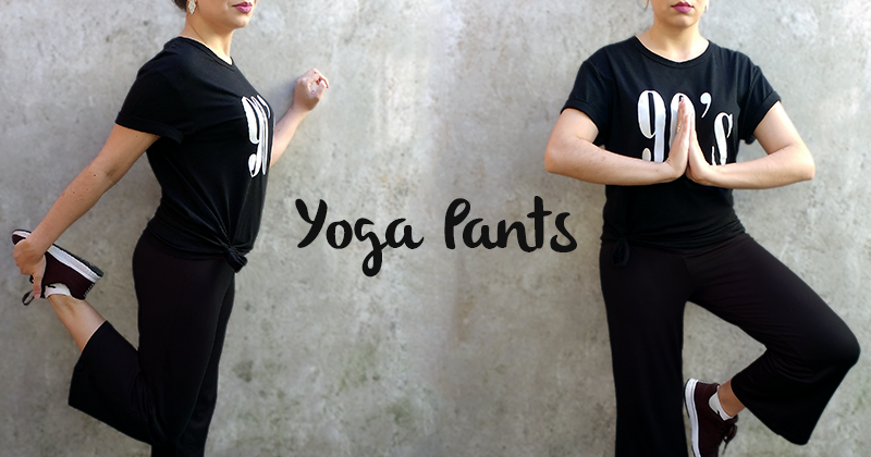 Look com Calça de Yoga Pantacourt - By PPZ