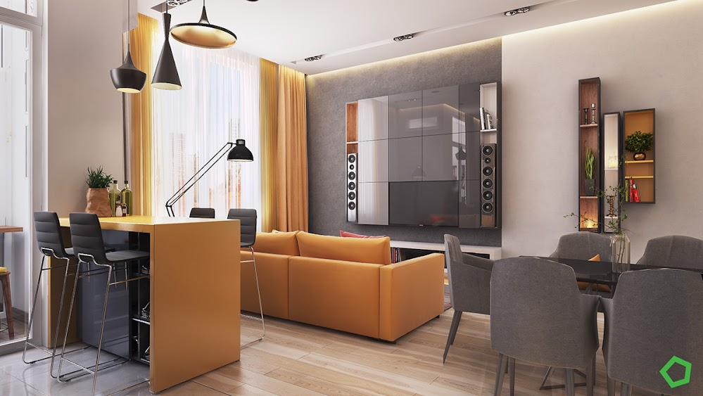 yellow-and-gray-apartment-design