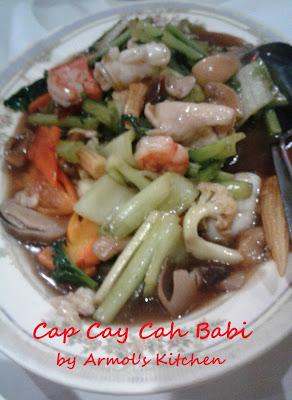 Resep Cap Cay