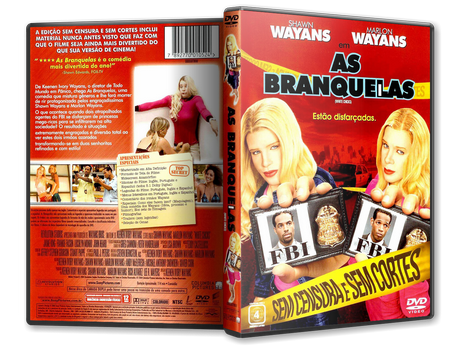 Capa DVD As Branquelas