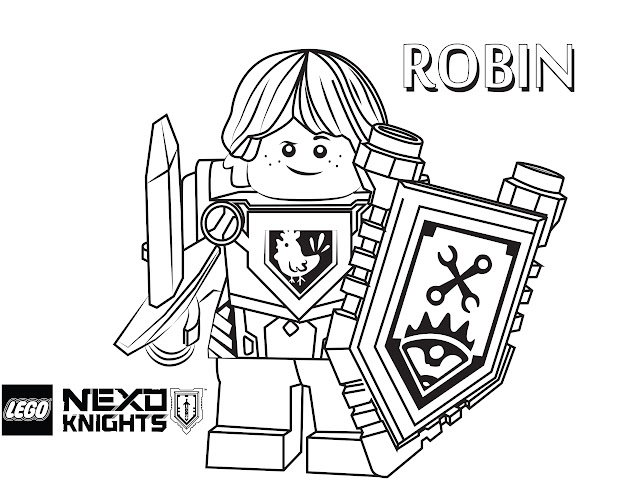 Lego Nexo Knights Coloring Pages  Free Printable Lego Nexo Knights Color  Sheets
