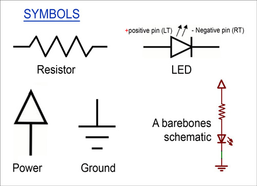 wiring code symbols for elementary