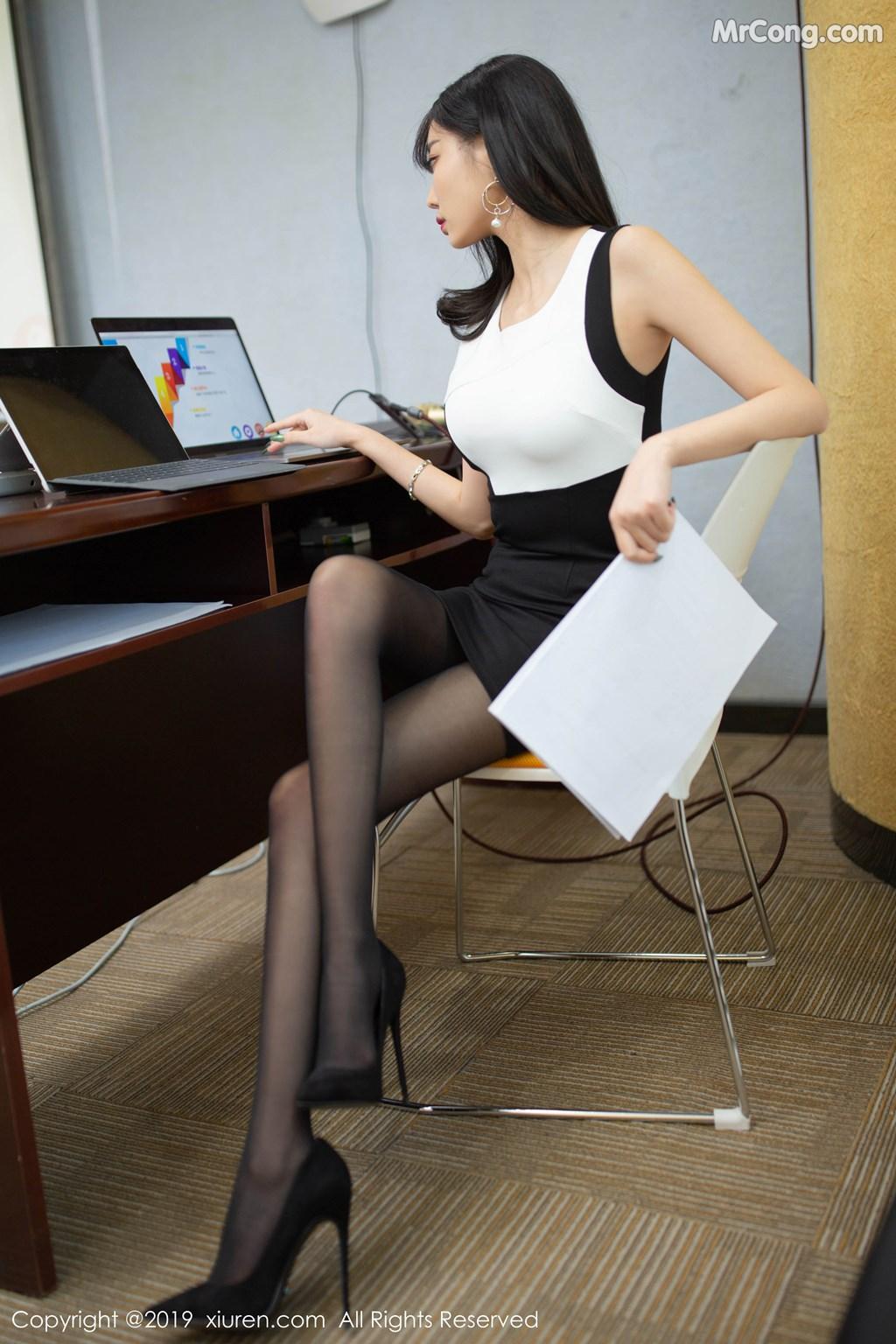 Image XIUREN-No.1803-Yang-Chen-Chen-sugar-MrCong.com-012 in post XIUREN No.1803: Yang Chen Chen (杨晨晨sugar) (79 ảnh)