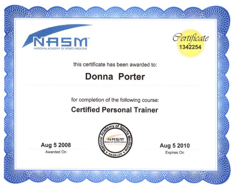 Best Online Personal Trainer Certification Free Professional