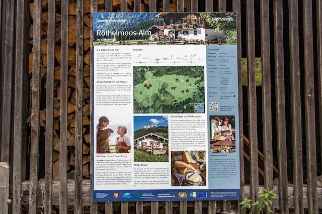 Rundweg Röthelmoos Almen – Weitsee  Wandern Ruhpolding  Wanderung Chiemgau 07