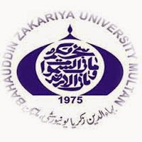 Bahauddin Zakariya University Multan MSc Date Sheet 2017 Part 1, 2