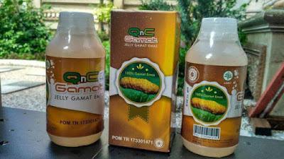 Obat Benjolan Di Selangkangan Herbal QnC Jelly Gamat