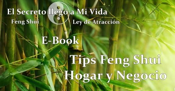 E book tips de feng shui hogar y negocio for Feng shui y el orden en el hogar