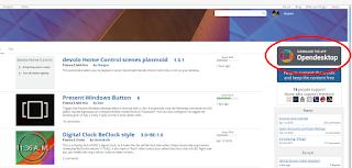 Downloading the OpenDesktop app