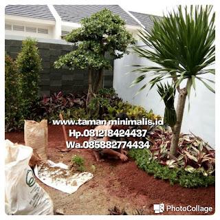 Kami tukang Taman minimalis menyediakan jasa pembuatan, renovasi, perawatan Taman gaya Bali minimalis,  Taman kering Taman vertical garden dengan harga paling murah