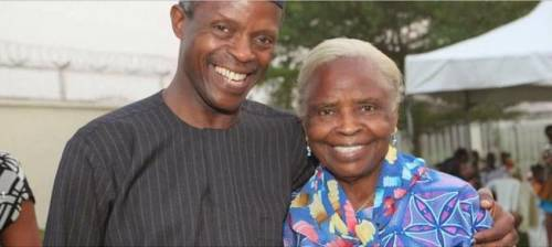 VP Osinbajo's Mother: I Pray For Release Of Dapchi Girls Everyday They are also my children
