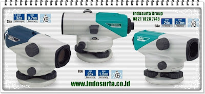 AUTOMATIC LEVEL SOKKIA  automatic level Sokkia-B40.  automatic level Sokkia-B30.  automatic level Sokkia-B20. Produk PT INDOSURTA