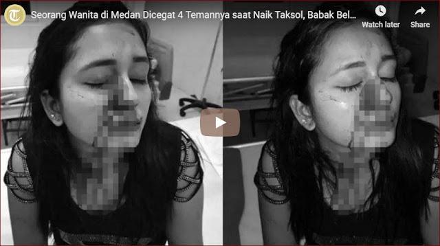 Karena Cemburu Sosial, Wanita Asal Medan Ini Dikeroyok Oleh 4 Temannya Sendiri
