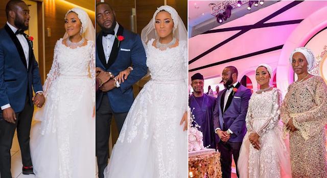 VIDEO:Men & Ladies of Power at Dangote's Daughter's Wedding Dinner in Lagos...