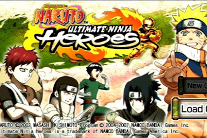 Download Game Naruto Ultimate Ninja Heroes 1 for Computer PC or Laptop